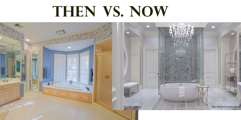 Master Bath Changes